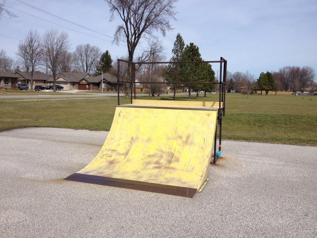 Plastic Skatepark