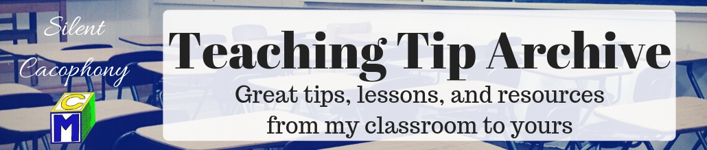 Teaching Tip Archive Page