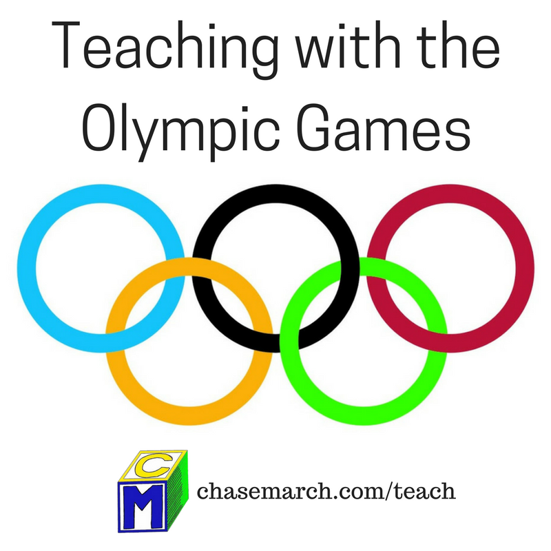 Teaching with the Olympic Games - Chase March DJ Services