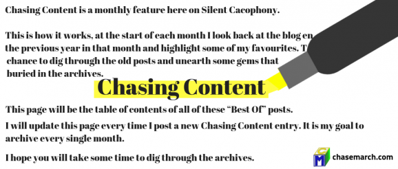 Chasing Content - September