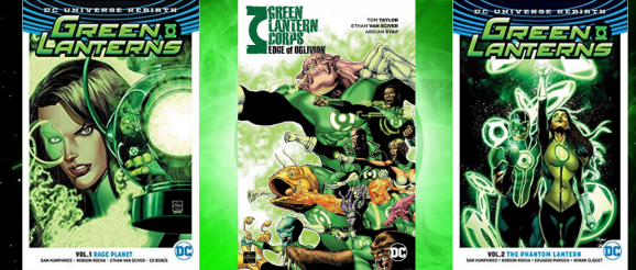 Green Lantern Comic Review