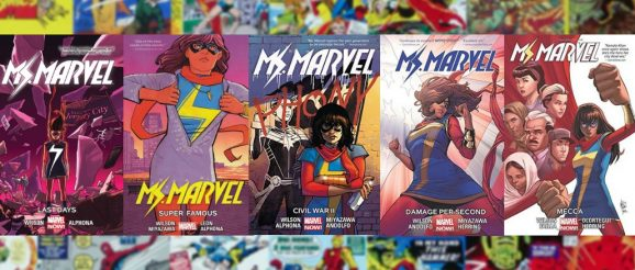 Ms. Marvel Graphic Novels