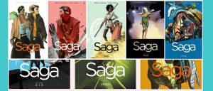 Saga Vol 1-8 TPB