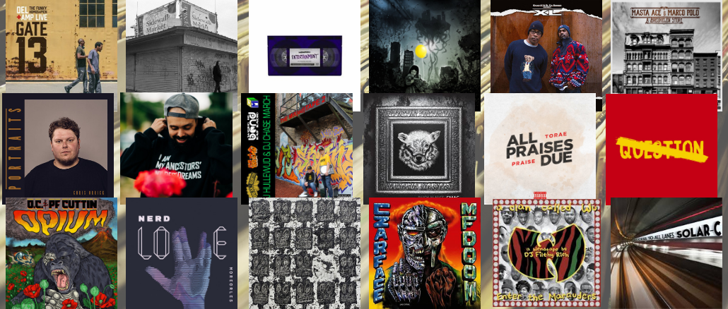 Top 18 Albums of 2018