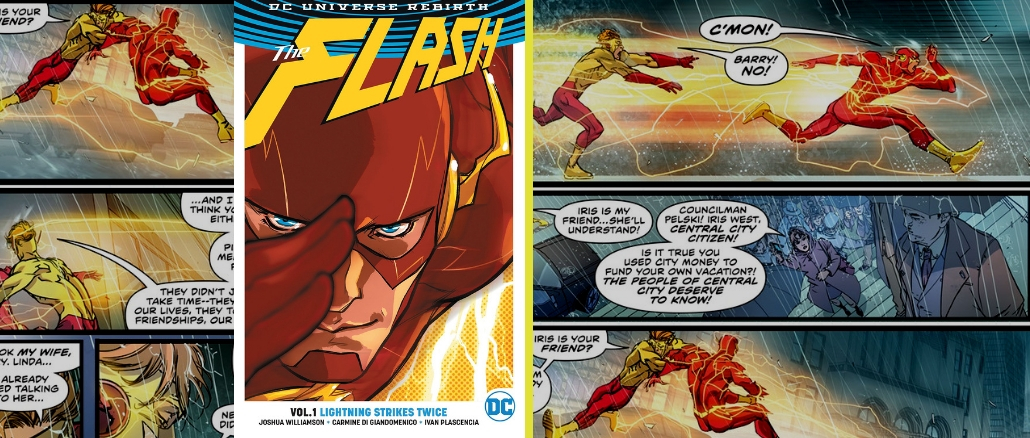 Flash - Lightning Strikes Twice TPB