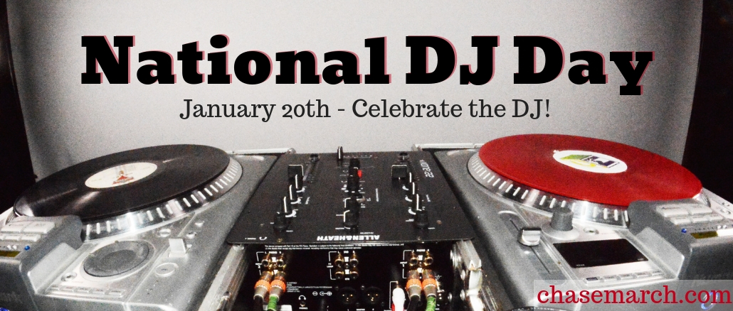 National DJ Day