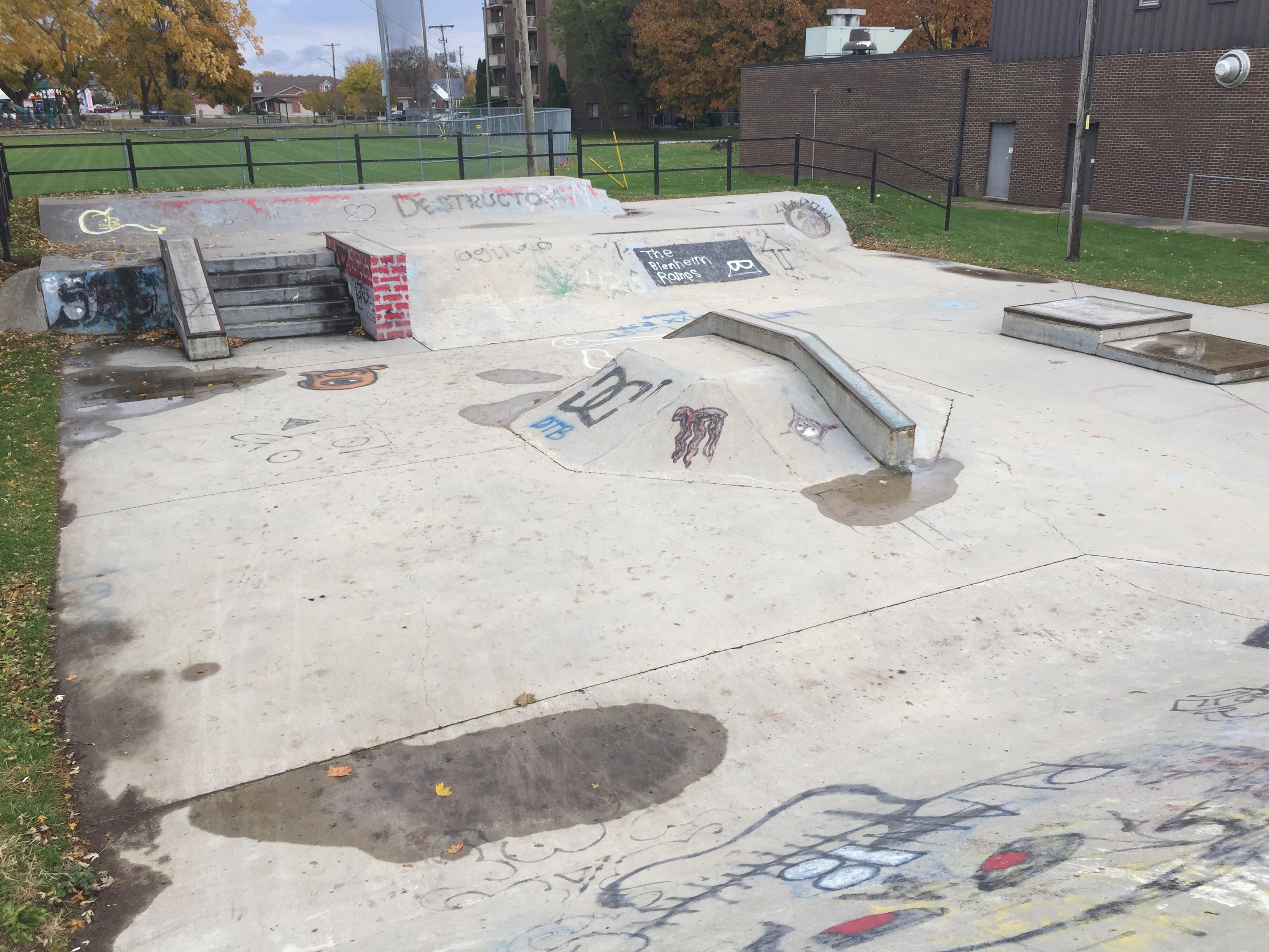 Skateboarding in Zero Gravity