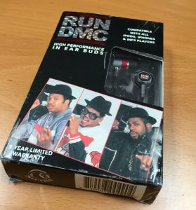 Run-DMC Earbud Box