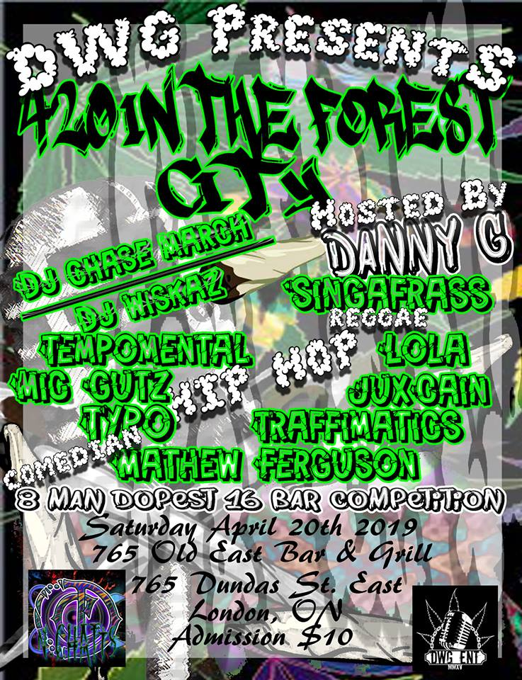 420 in the Forest City Poster