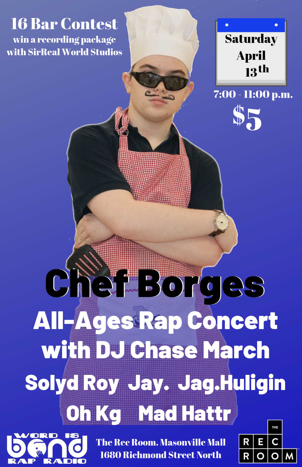 Chef Poster Live in Concert