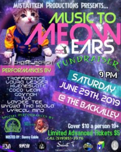 Music to Meow Ears Fundraiser