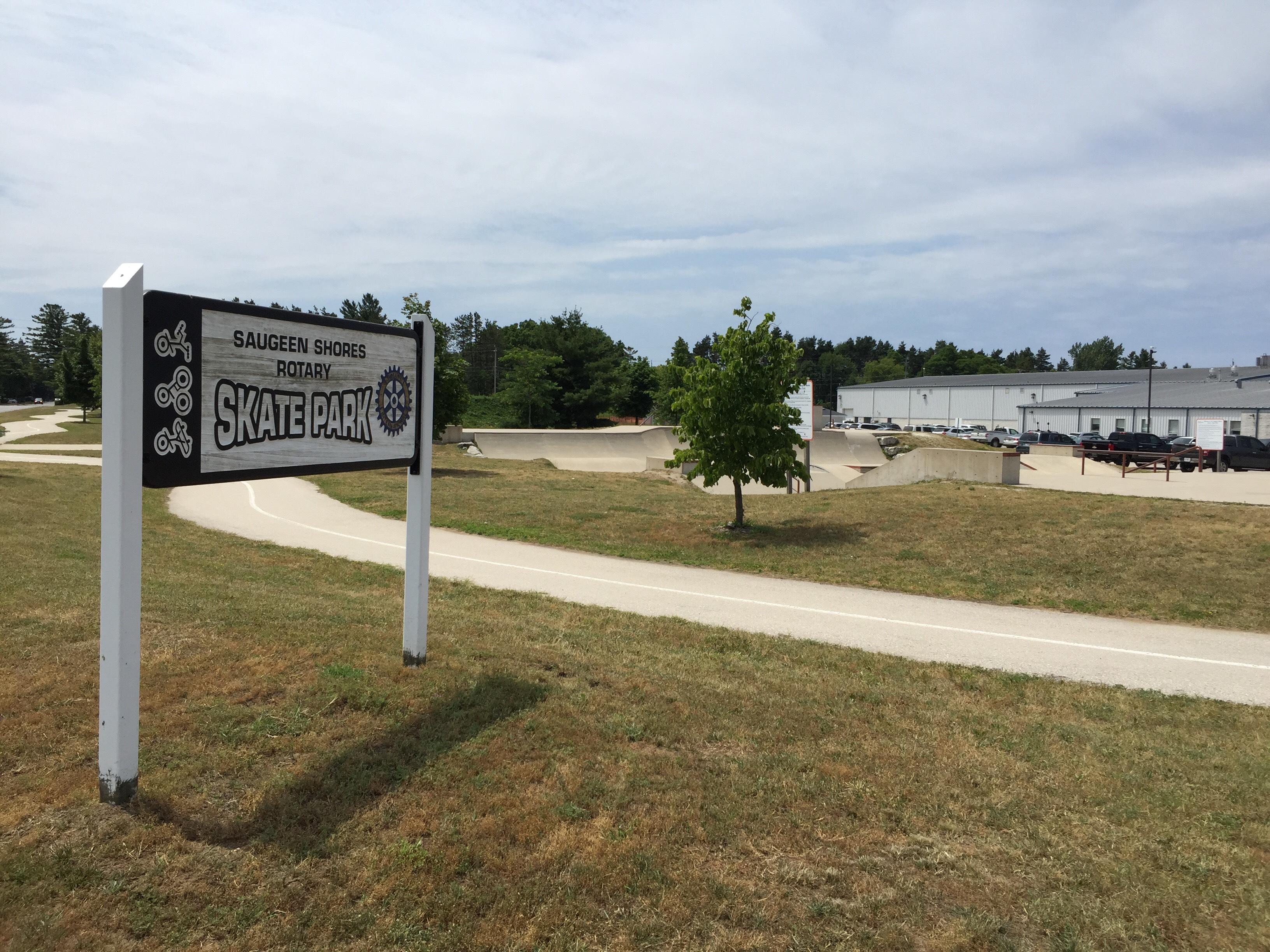 Saugeen Shores Rotary Skate Park