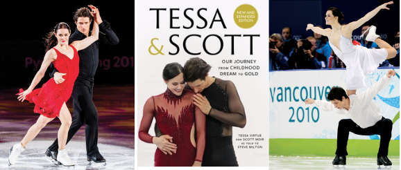 Tessa Virtue & Scott Moir - Book Cover & Pictures