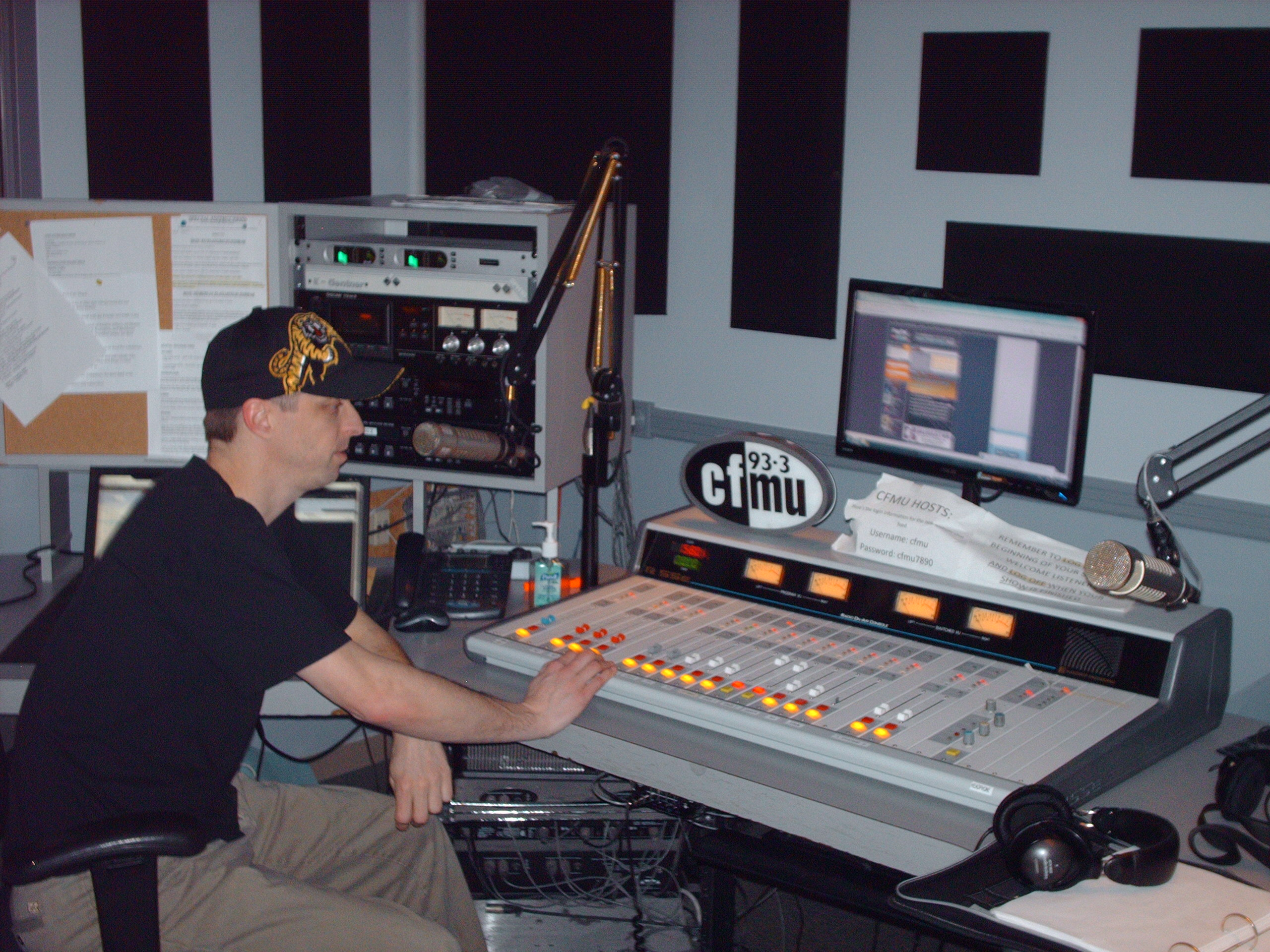 Chase March at CFMU